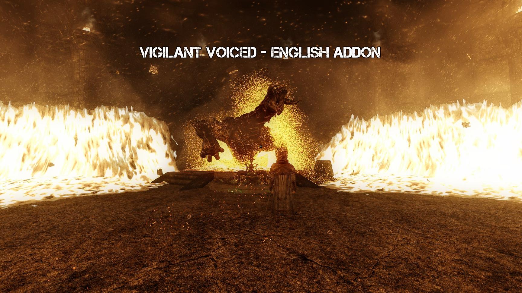 Vigilant Voiced - English Addon