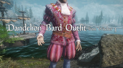 VS Witcher 3 Dandelion Bard Outfit