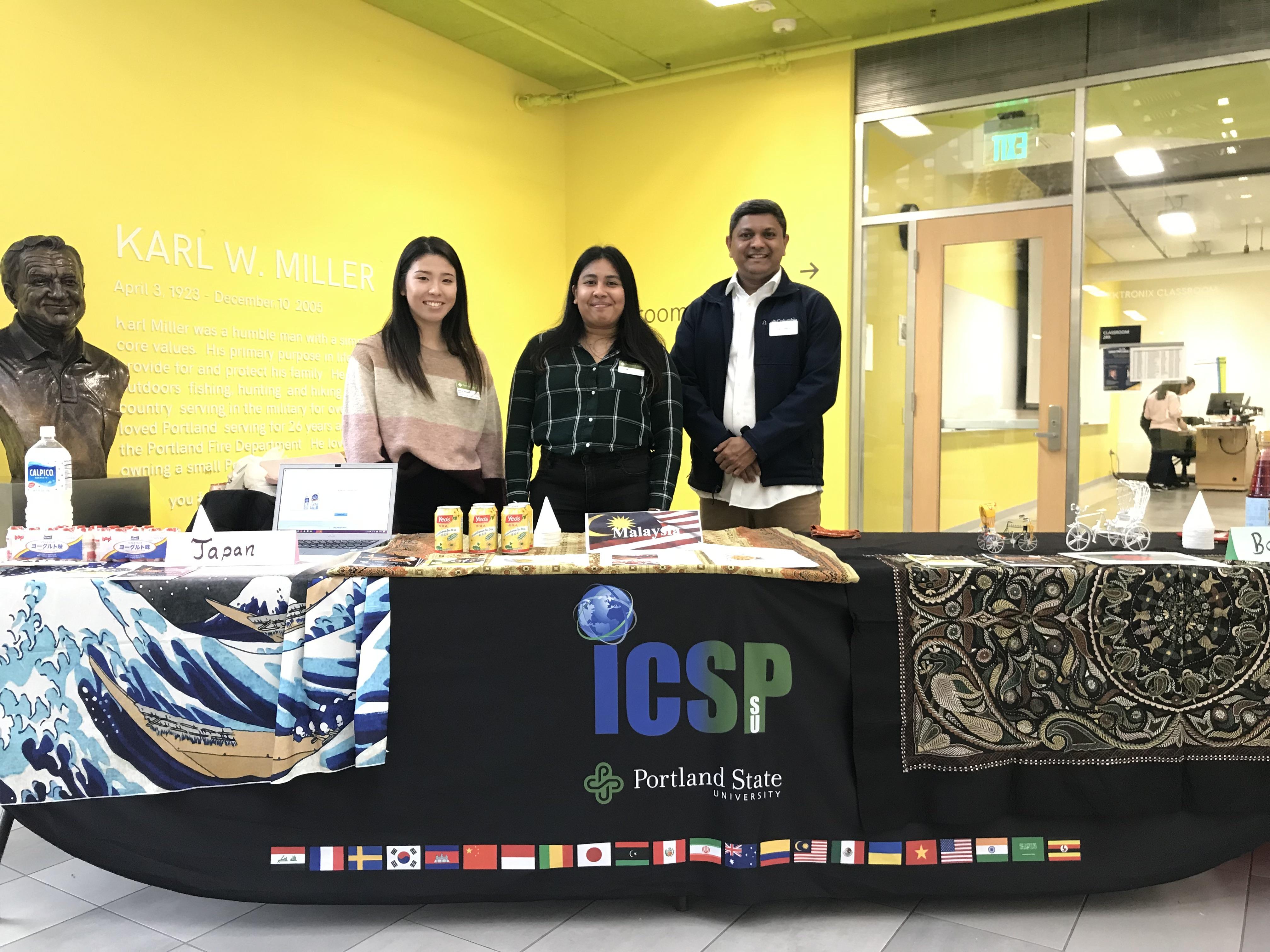 ICSP Beverage Booth