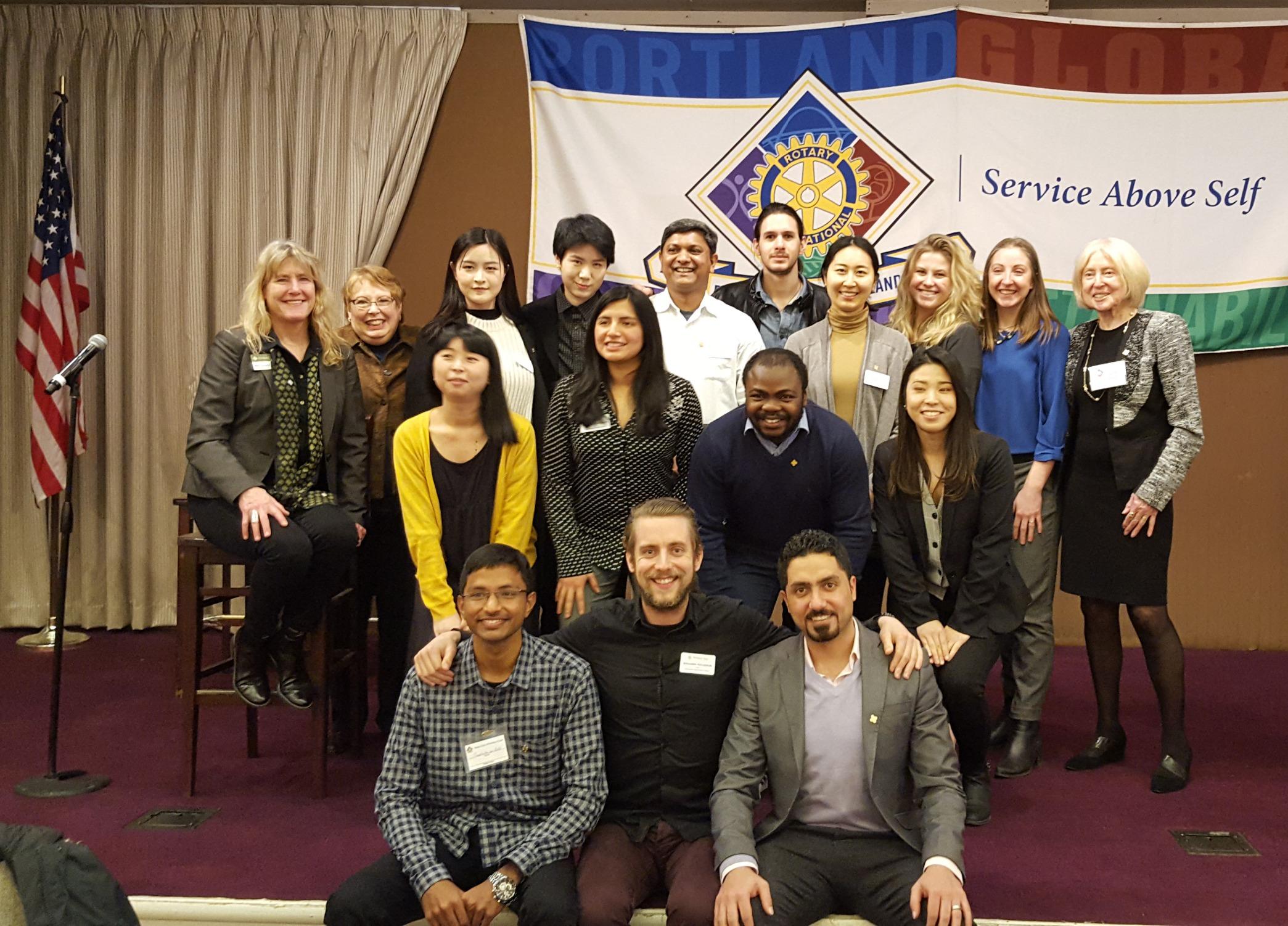 Portland Rotary Club Luncheon