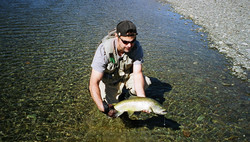 Fly fishing rivers queenstown