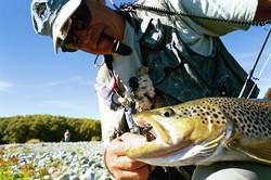 fly fishing guide Twizel