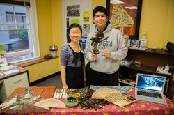 Indonesia Culture Booth, Fall 2015