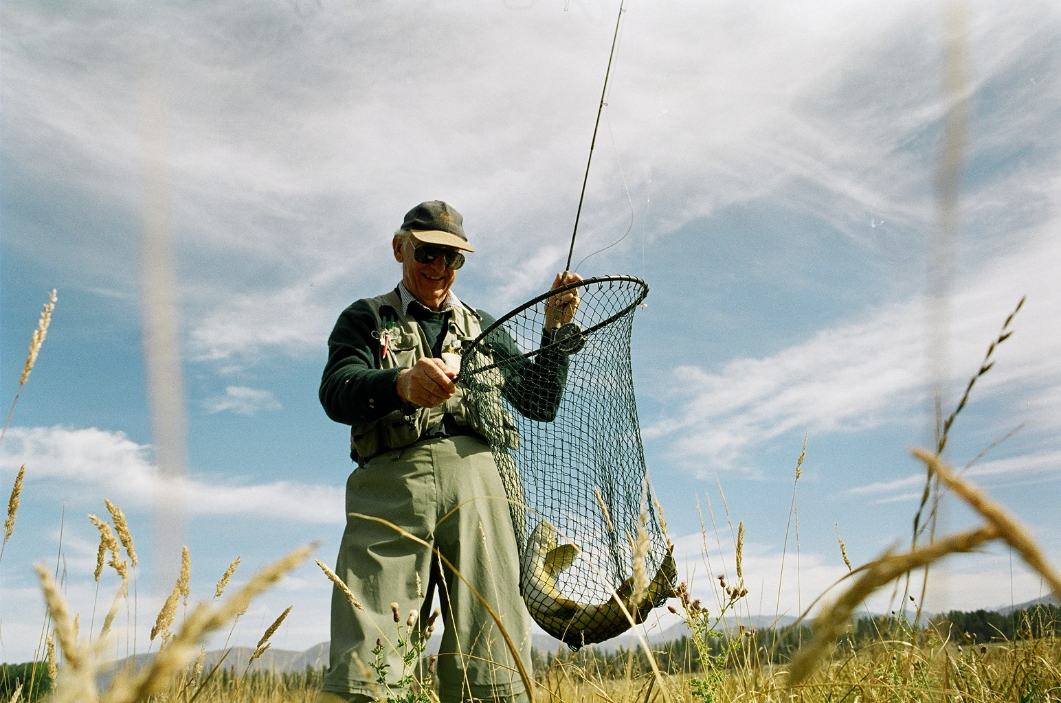 Fly fishing adventure Canterbury