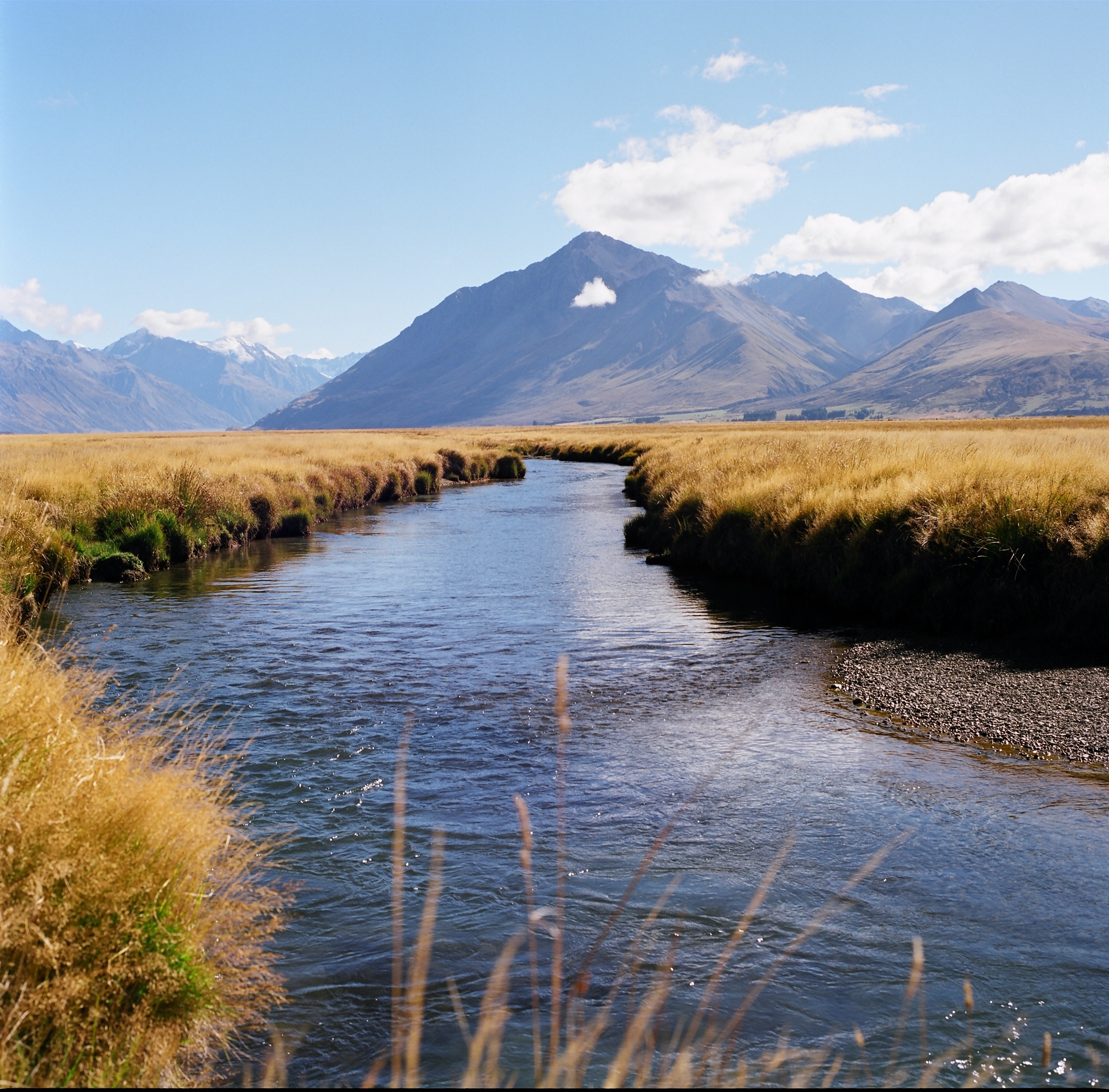 Fly fishing Twizel