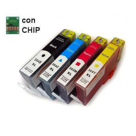 kit Cartucce Comp.HP364XL