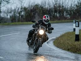 200+ HP and wet roads, an interesting combination!