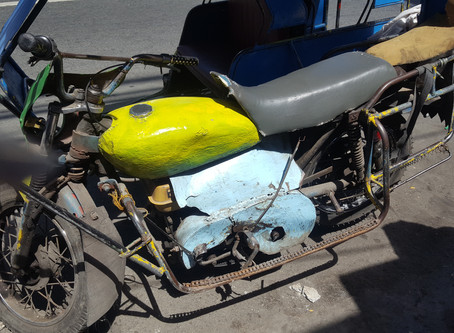 Only in the Philippines! Ingenuity at its best.
