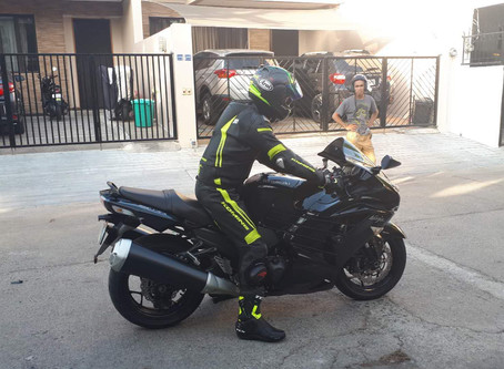 """The ZX14R grows on me. The """"Silent Assassin"""""""