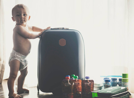 HOLIDAY CHECKLIST FOR TRAVELLING WITH A BABY