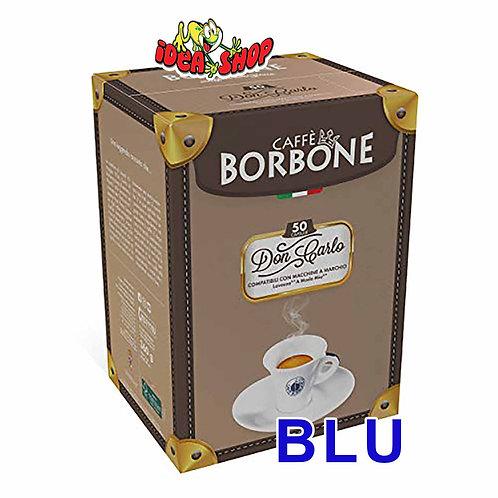 Capsule caffè Borbone compatibili Lavazza a modo mio blu 50 pz.