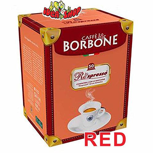 Capsule caffè Borbone compatibili Nespresso rossa 50 pz.