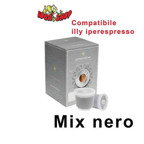 Caffè Barbaro compatibile illy iperespresso 80 capsule mix nero