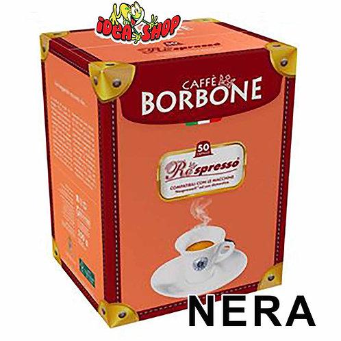 Capsule caffè Borbone compatibili Nespresso nera 50 pz.