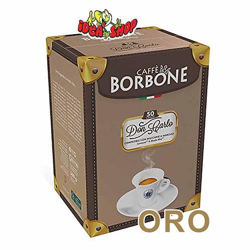 Capsule caffè Borbone compatibili Lavazza a modo mio oro 50 pz.