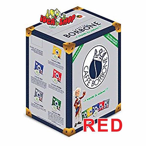 Cialde di carta compostabili caffè Borbone miscela rossa 50 pz.