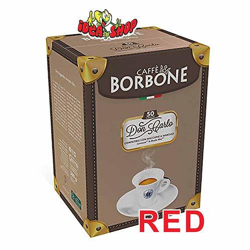 Capsule caffè Borbone compatibili Lavazza a modo mio rosso 50 pz.