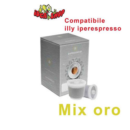 Capsule caffè Barbaro compatibili illy iperespresso 80 capsule 100% arabica