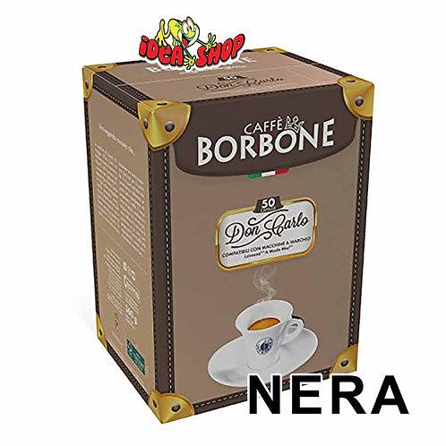 Capsule caffè Borbone compatibili Lavazza a modo mio nera 50 pz.