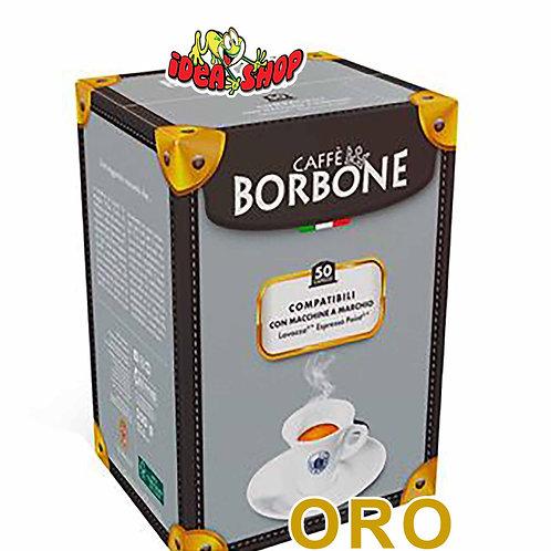 Capsule caffè Borbone compatibili Lavazza espresso point oro 50 pz.