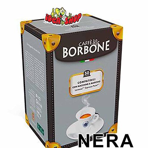 Capsule caffè Borbone compatibili Lavazza espresso point nera 50 pz.