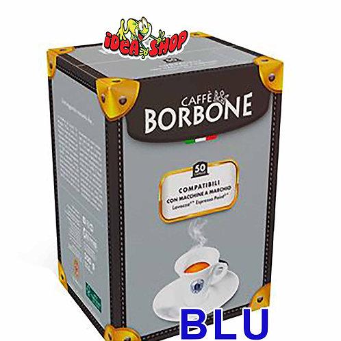 Capsule caffè Borbone compatibili Lavazza espresso point blu 50 pz.
