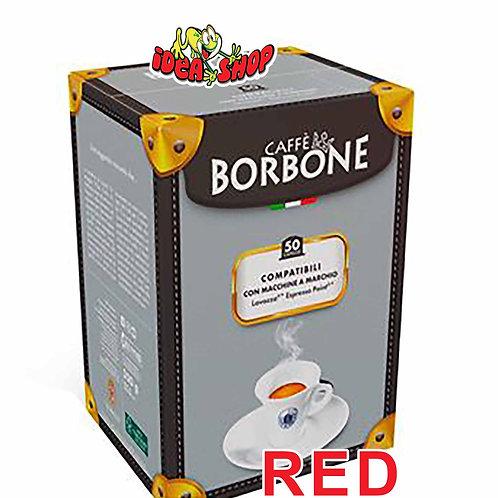 Capsule caffè Borbone compatibili Lavazza espresso point red 50 pz.