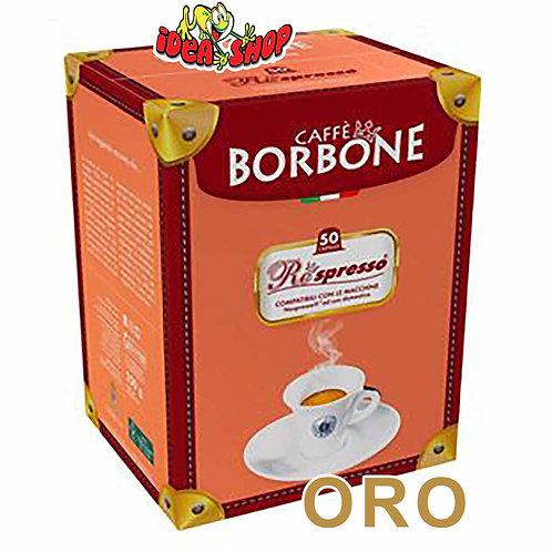 Capsule caffè Borbone compatibili Nespresso oro 50 pz.