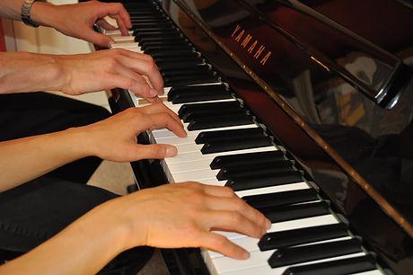 4hands on piano.JPG