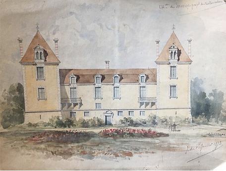 Projet de restauration, 1873