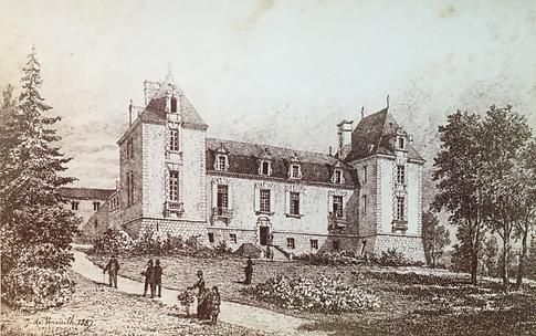 Elévation sur jardin, 1889