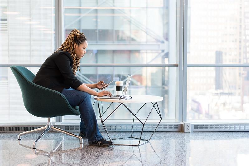 How to create a developer blog: Developer brainstorming on laptop
