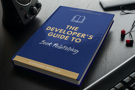 The cover of The Developer's Guide to Book Publishing