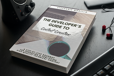 The cover of The Developer's Guide to Content Creation