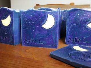 客戶訂製 - 星空月亮皂