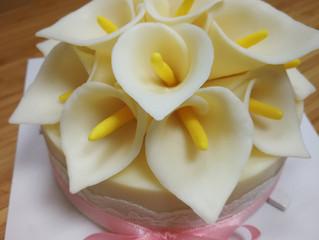 私人訂制系列 - 手工皂唧花蛋糕 花圈