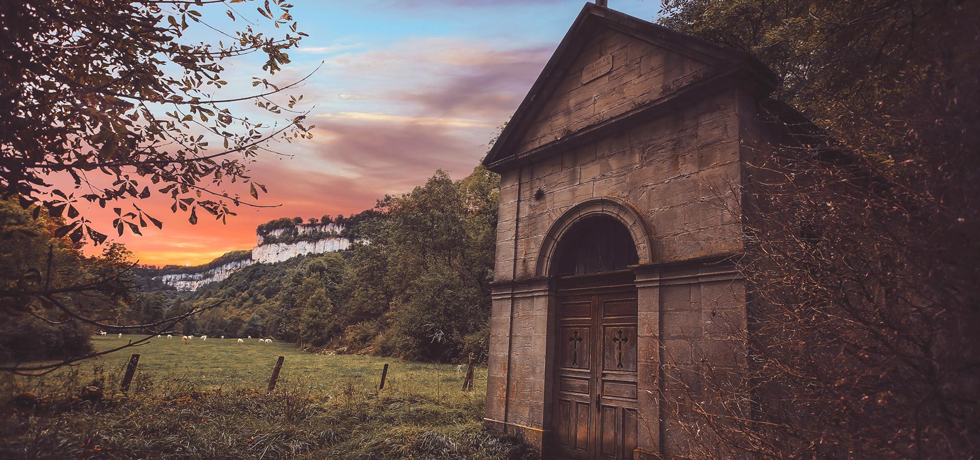 Petite Chapelle à Baume-les-Messieurs (39)