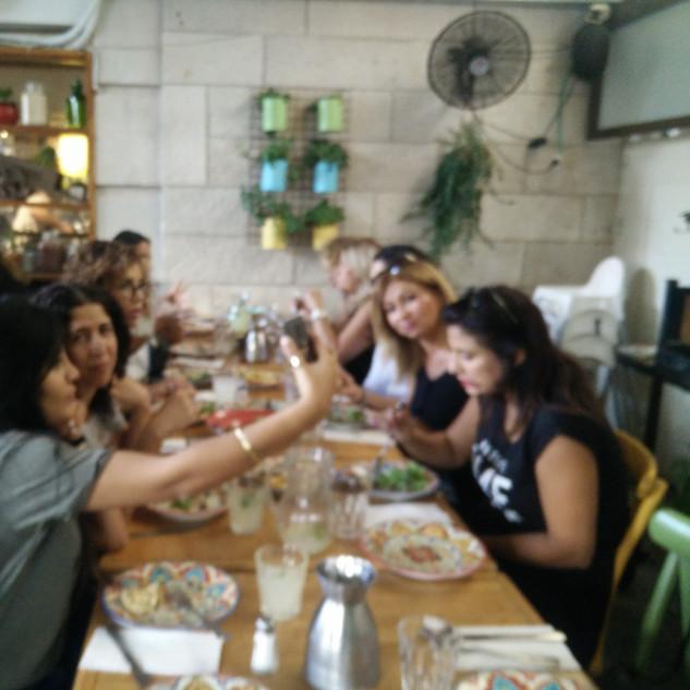 פוקצ'ה במושבה - ירושלים