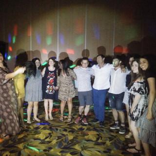 מסיבת חברה - ים המלח
