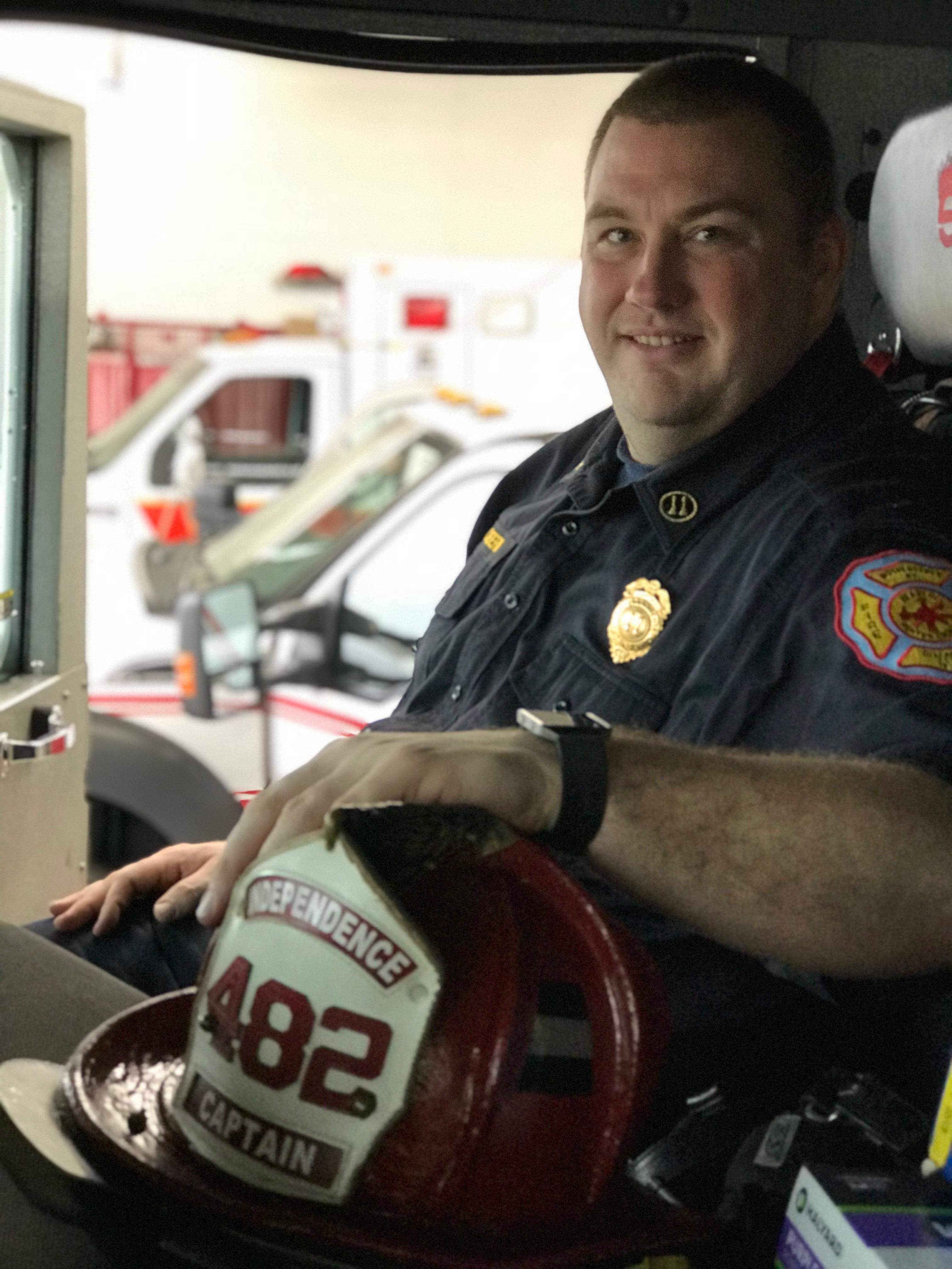Captain EMT Brian Claybern