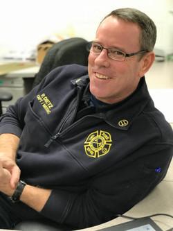 Captain Medic Phil Dietz discusses EMS training
