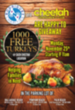 Rodriguez Charities Annual Turkey Givaway