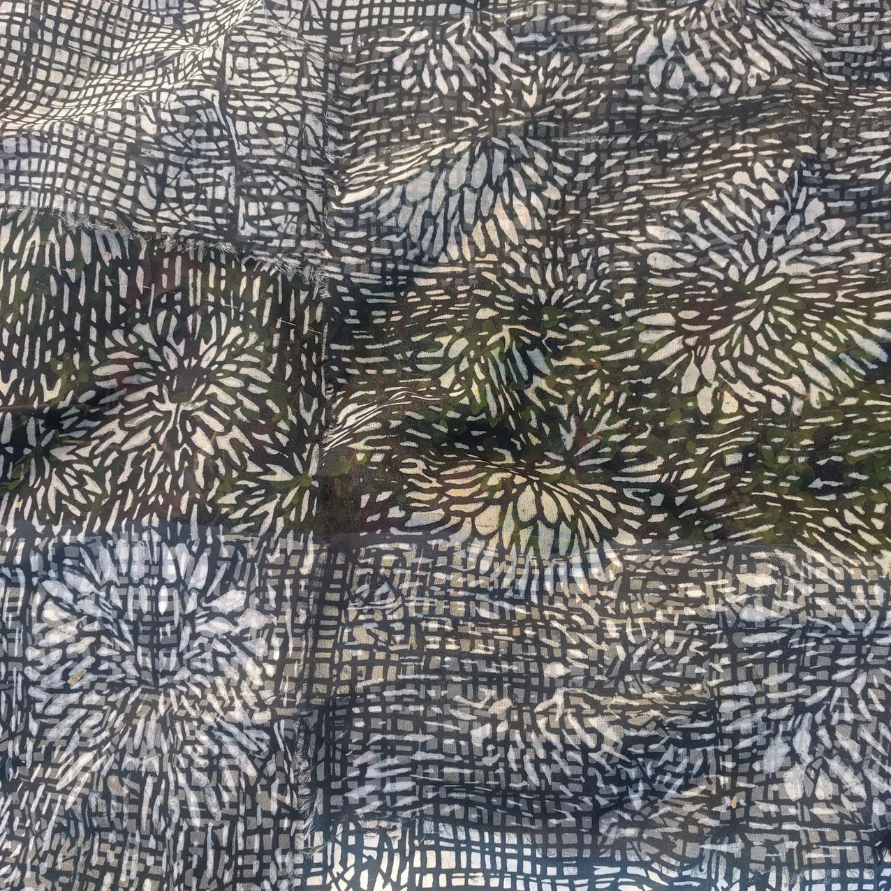 SD work Layered transparent silks 2