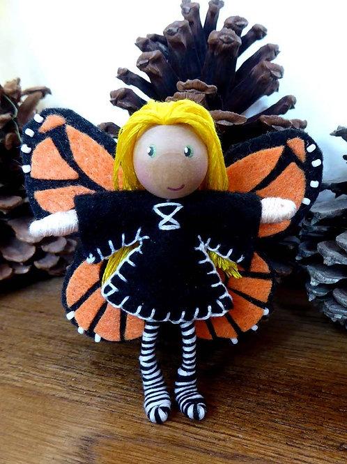 Monarch Bendy doll