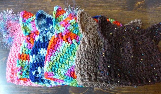 Kitty ear hats!! #creativeeveryday  i di