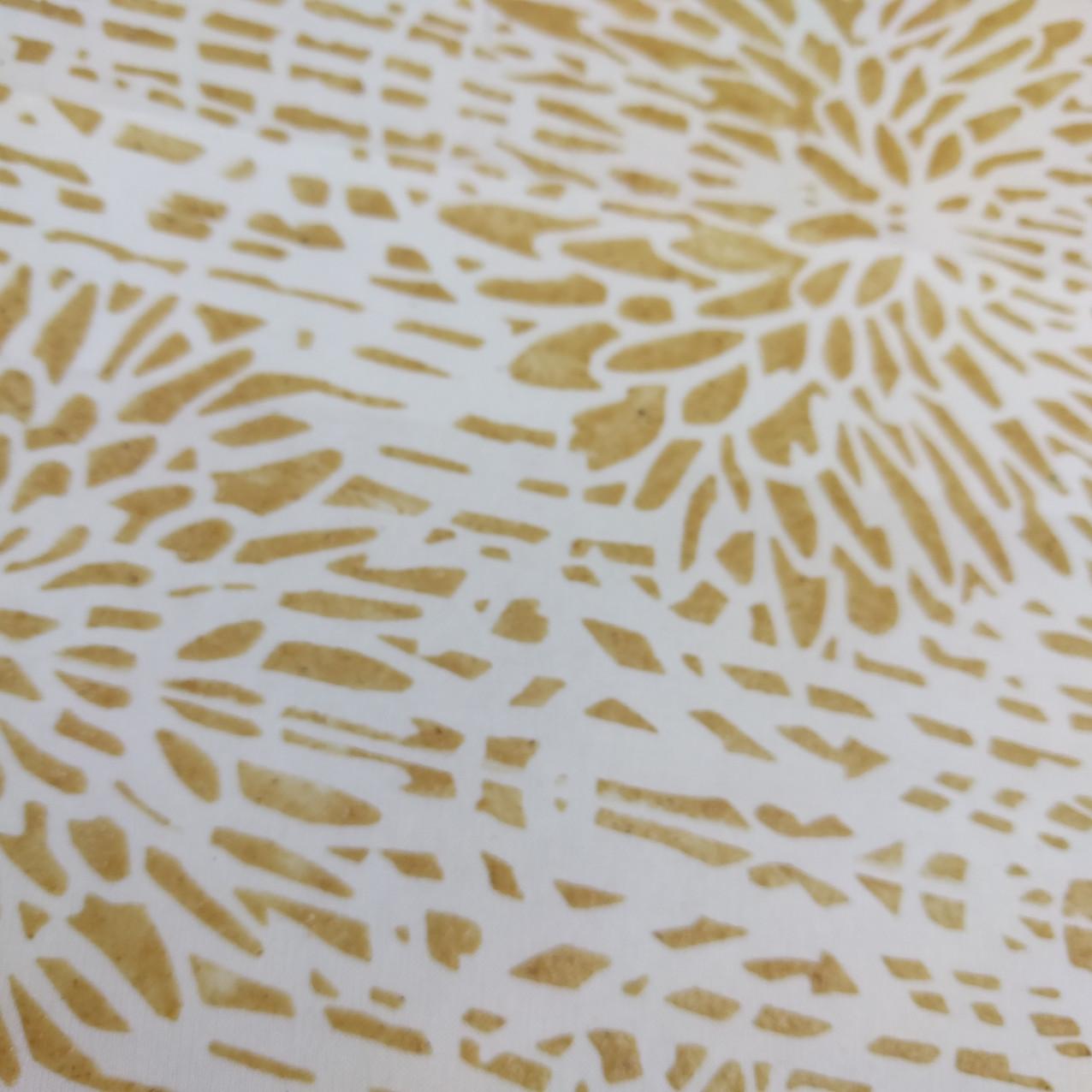 SD work Stencilled rice paste close up