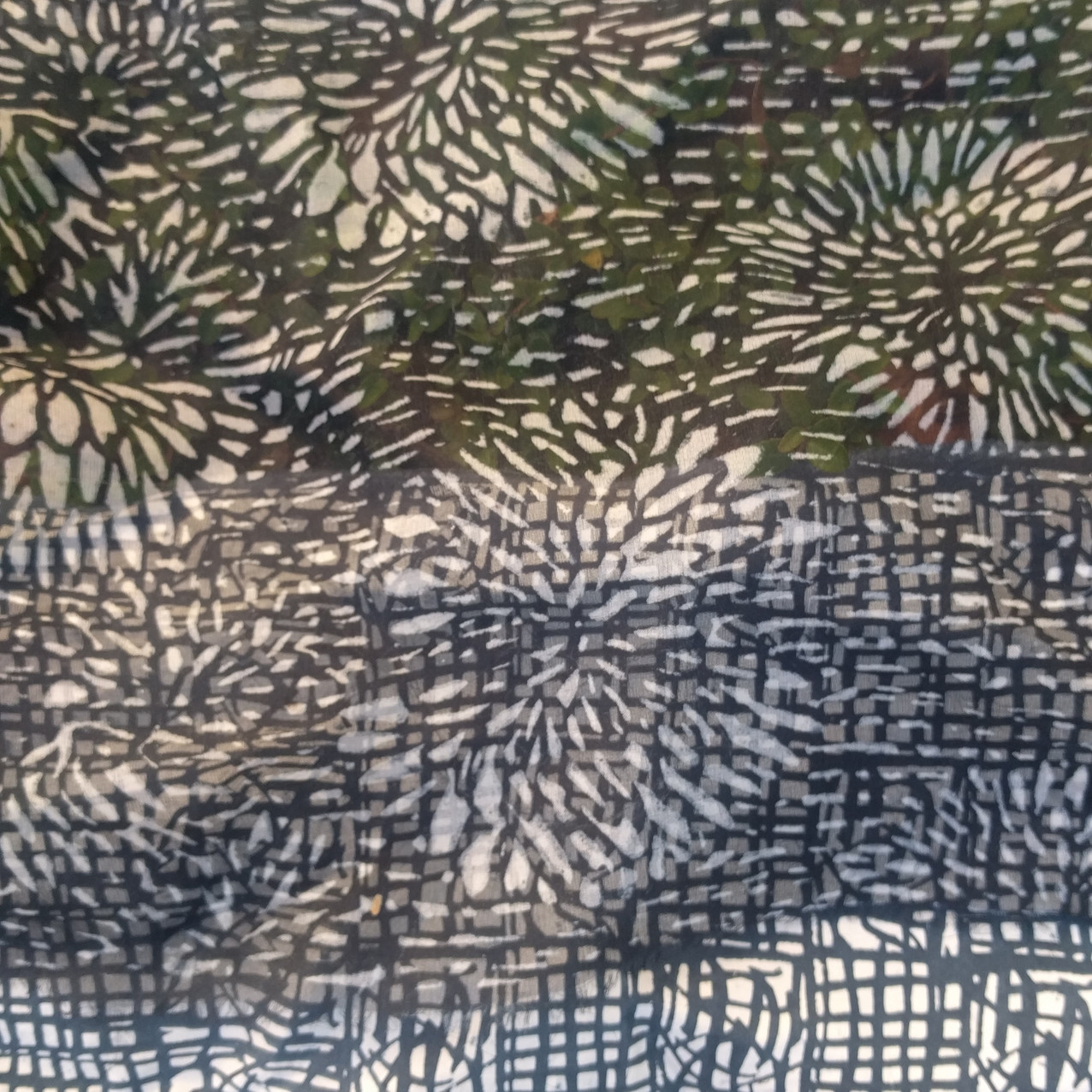 SD work Layered transparent silks 3