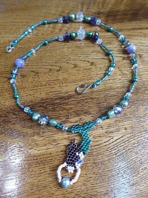 Beaded Mermaid Necklace