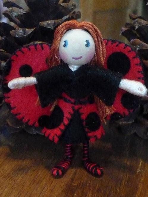 Ladybug Girl- Auburn hair
