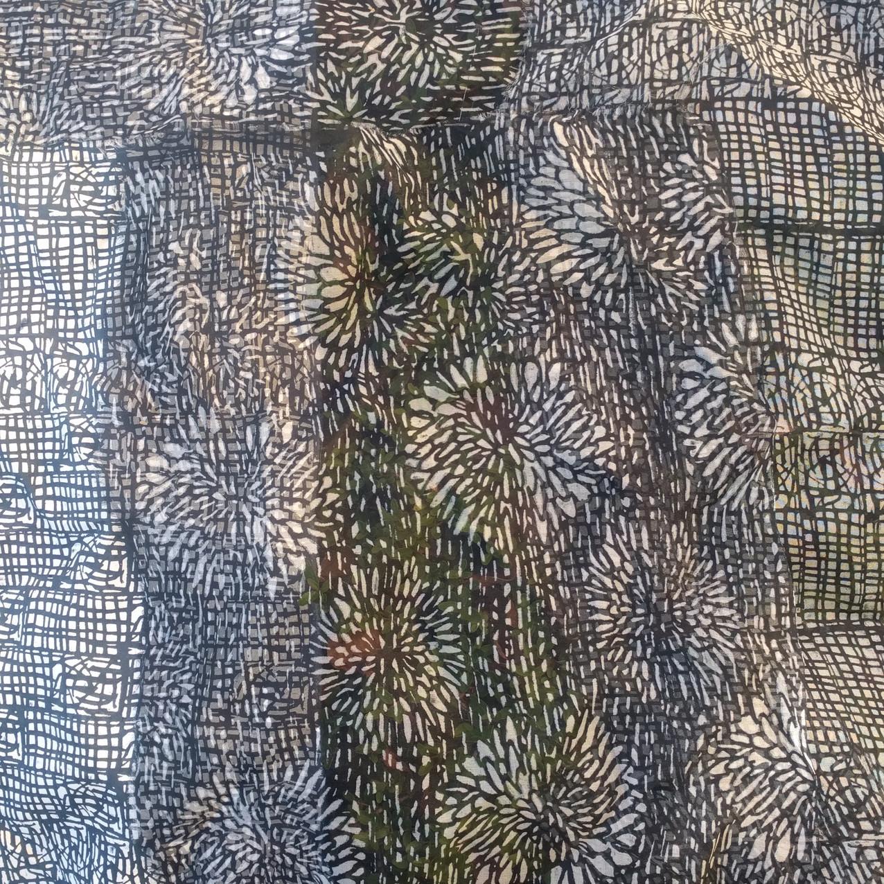 SD work Layered transparent silks 4